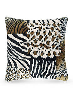 Vue Patchwork Faux Fur Pillow