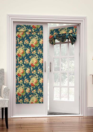 Waverly waverly sanctuary rose french door panel belk for 10 panel french door