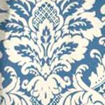 Waverly Curtains: Cornflower Waverly Donnington Window Tier Pair