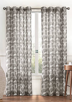 Eclipse™ Eclipse Amadora Ikat Light Filtering Sheer Curtain