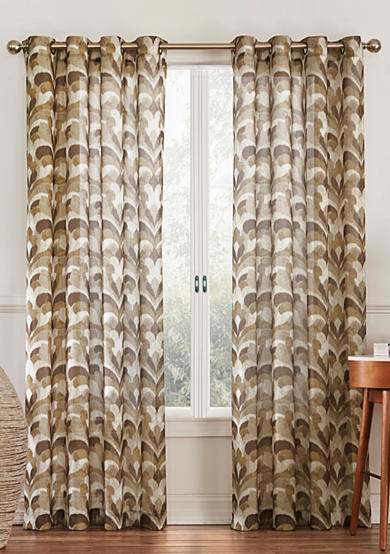 Eclipse™ Eclipse Amadora Ikat Light Filtering Sheer Curtain Collection