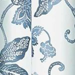 Red Curtains: Indigo Eclipse™ Eclipse Wythe Floral Light Filtering Sheer Curtain