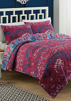 Vue Tao Reversible 2 Piece Quilt Set