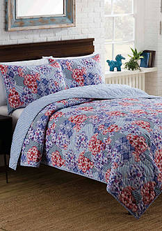 Vue Islander Reversible 2 Piece Quilt Set