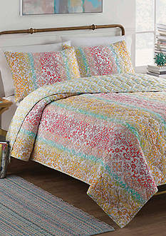 Vue Shoshana Reversible 3 Piece Quilt Set