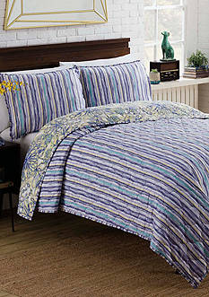 Vue Shaylee Reversible 3 Piece Quilt Set