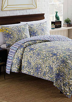 Vue Shaylee Reversible 2 Piece Quilt Set