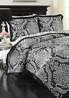 Historic Charleston Elisabeth Reversible 3 Piece Quilt Set