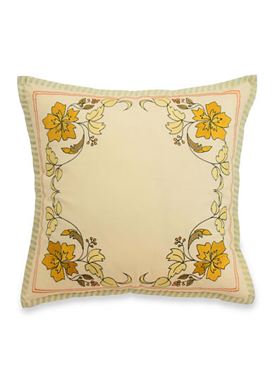 Waverly® Felicite Persimmon Embroidered Decorative Accessory Pillow