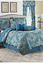 Moonlit Shadows 3-Piece Reversible Quilt Collection