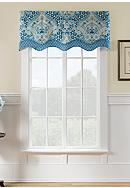 Waverly® Moonlit Shadows Wave Window Valance