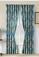 Waverly® Moonlit Shadows Curtain Panel Pair