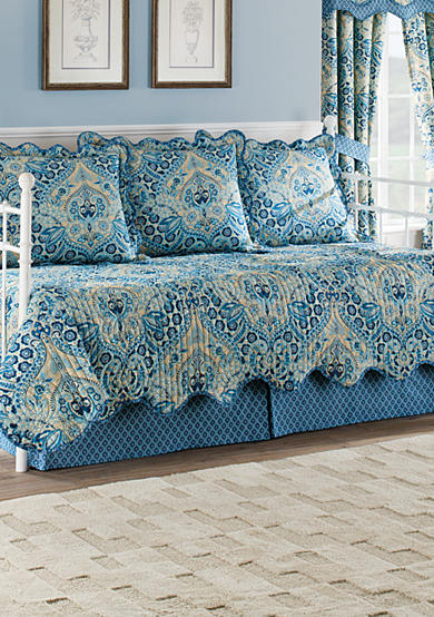Waverly® Moonlit Shadows Reversible 5 Piece Quilt Daybed Collection
