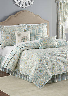 Waverly Astrid Full/Queen Reversible Quilt Set