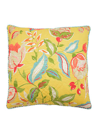 Waverly Modern Poetic Quilted Decorative Pillow belk