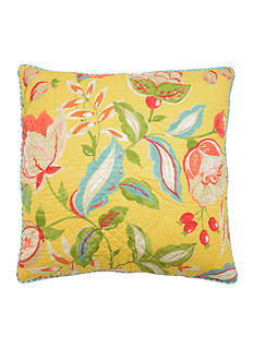 Waverly Modern Poetic Quilted Decorative Pillow