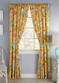 Waverly Modern Poetic Drapery Pair