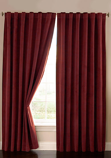 Absolute Zero® Velvet Blackout Home Theater Curtain Panel - Online Only