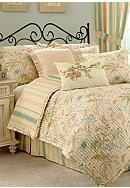 Waverly® Cape Coral Quilt Collection
