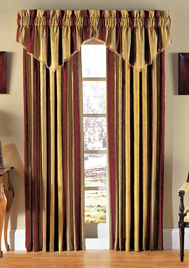 Waverly® Capulet Stripe Window Panel and Valance - Online Only