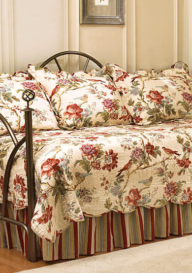 Waverly® Charleston Chirp 5-piece Daybed Cover Quilt Set - Online Only