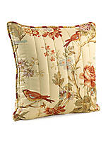 Charleston Chirp 20-in. x 20-in.  Quilted Pillow