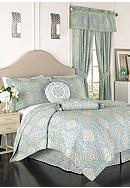 Waverly® Moonlight Medallion Quilt Collection