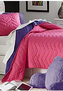 Home Accents® Chevron Pink & Purple