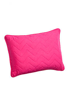Home Accents Chevron Pink & Purple Reversible Quilt