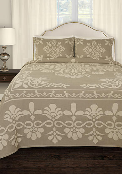 Lamont Home® Annabella Tan Bedspread Collection