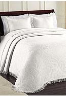 Lamont Home® Allover Brocade Bedspread -