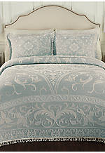Gabriella Blue Queen Bedspread 102-in. x 120-in.