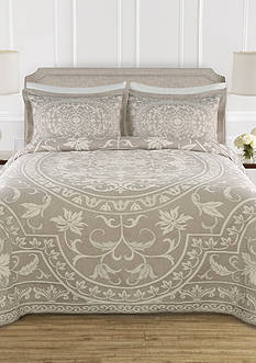 Lamont Home Celia Taupe Queen Bedspread