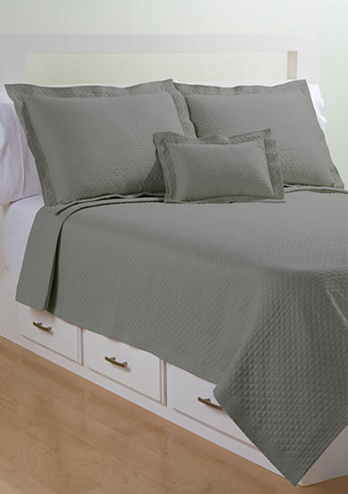 Lamont Home® Diamante Matelasse Coverlet Collection