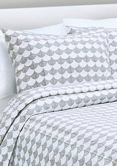Lamont Home® FINLEY KING SHAM GRY/WHT
