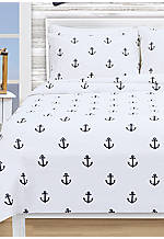 Anchors Twin Coverlet 68-in. x 96-in.