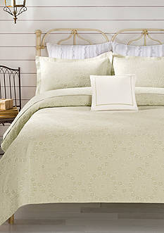 Lamont Home® Sage Meadow Twin Coverlet 96-in. x 68-in.