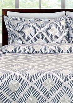 Lamont Home® Equinox King Sham Blue