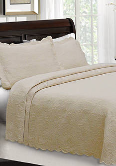 Lamont Home® Majestic Matelasse Coverlet Collection