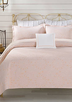 Lamont Home® Apricot Meadow Coverlet Collection