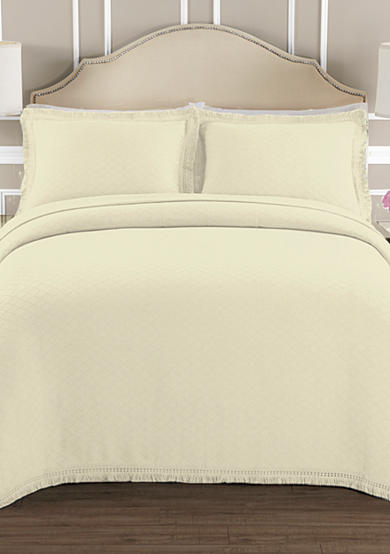 Lamont Home® Valencia Ivory Bedspread Collection