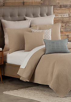 Home Accents Casual Living Mandala Biscotti Tan Full/Queen Quilt