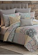 Home Accents® Annika Reversible Quilt Set