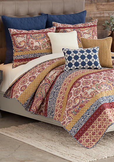 Home Accents® Casual Living Miriam Reversible Quilt Set
