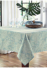 Lenai Teal Tablecloth 52-in. x 70-in.