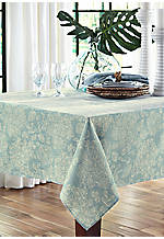 Lenai Teal Tablecloth 60-in. x 102-in.