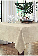Lenai Khaki Tablecloth 60-in. x 84-in.
