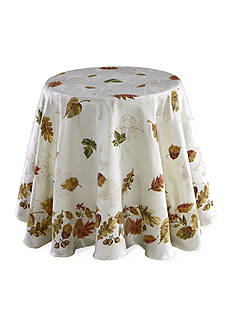Fraiche Maison Harvest Collage Round Tablecloth