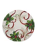 Fraiche Maison Holly Silhouette Round Placemat
