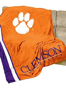 Logo Clemson Tigers UltraSoft Blanket